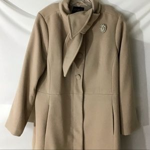 💖Lovely Eloquii Studios shirtwaist Coat EUC💖